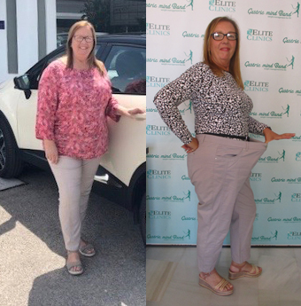 Jackie lost weight following her GMB treatment then appeared on UK TV. Success Stories of Weight Loss following treatment