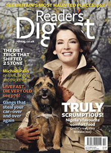 Readers Digest Magazine featured Martin and Marion Shirran.