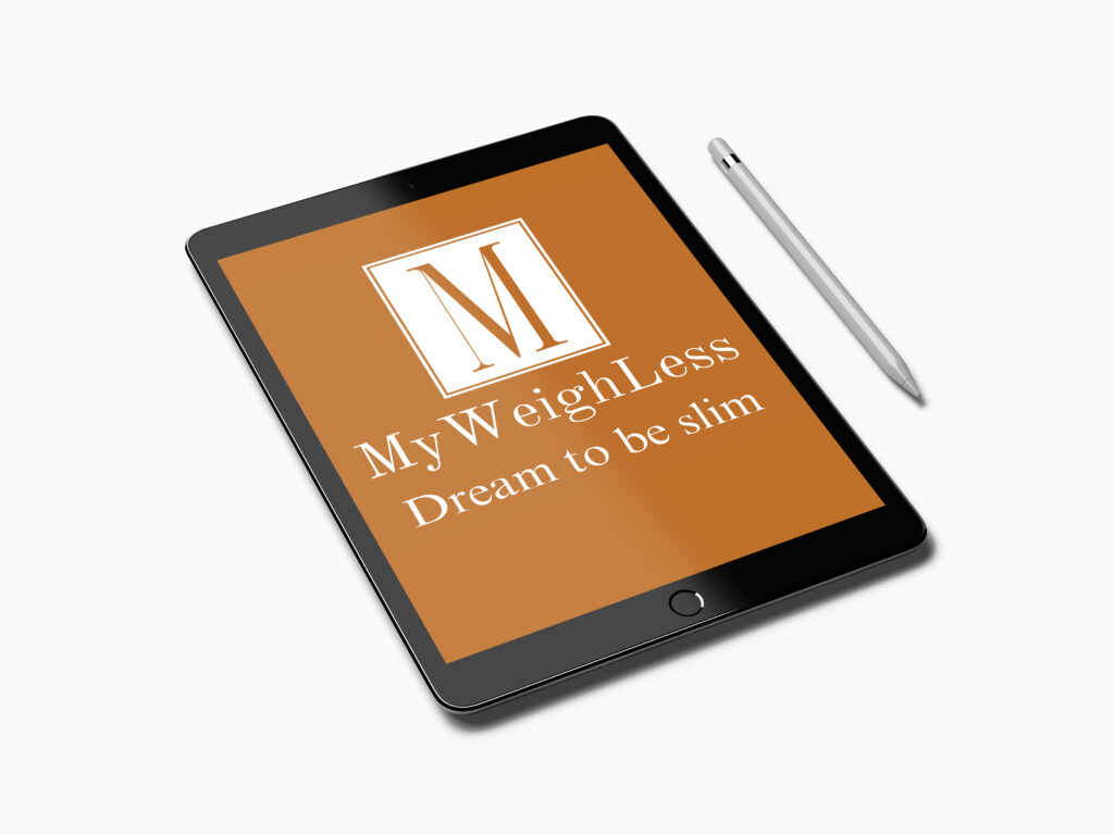 My Weigh Less Downloadable Course can be completed on any device, mobile phone, tablet or desktop