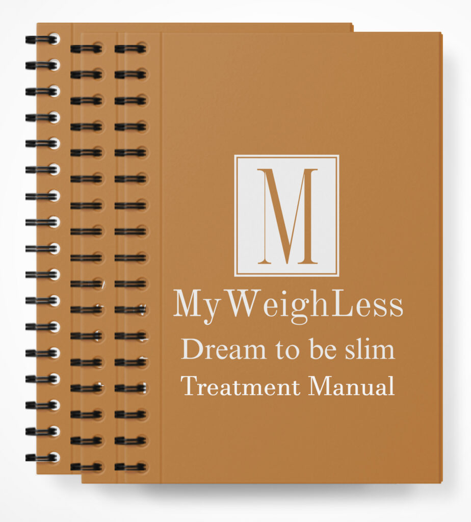 My Weigh Less Downloadable Course Following the completion of the course you will have access to a full MWL Treatment Manual.