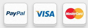 Payment by PayPal and Bank Cards